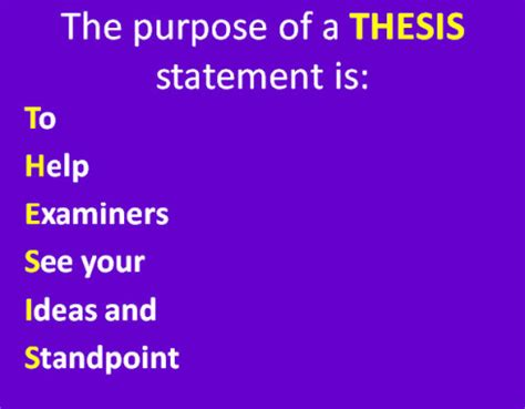 How to Write a Thesis Paragraph Pen and the Pad